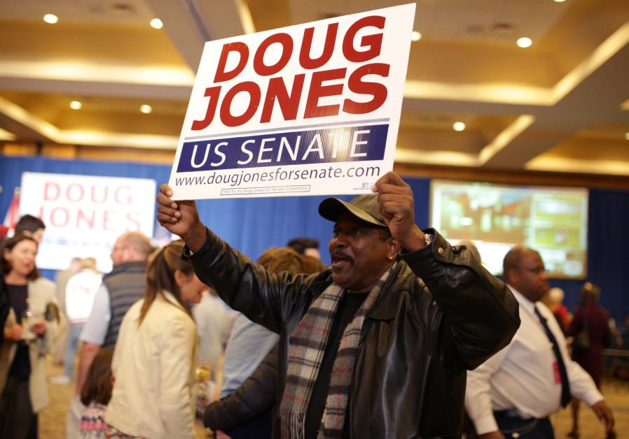 Democrat Doug Jones wins US Senate seat in Alabama