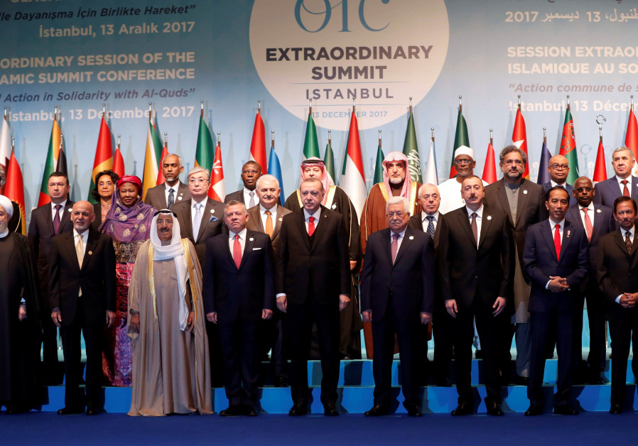 Leaders and representatives of the Organisation of Islamic Cooperation (OIC) member states
