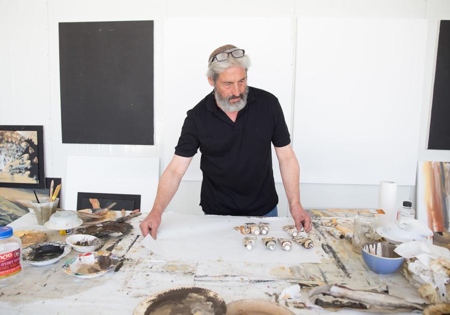 Art shines the aliya path for American-Jewish painter Yoram Raanan
