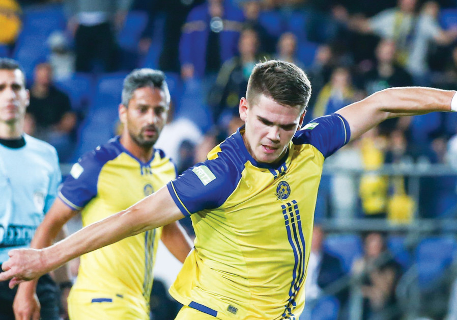 Maccabi Tel Aviv needs striker Vidar Orn Kjartansson to return to form tonight when it faces Hapoel