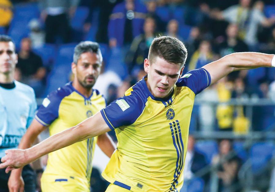 Maccabi Tel Aviv needs striker Vidar Orn Kjartansson to return to form tonight when it faces Hapoel