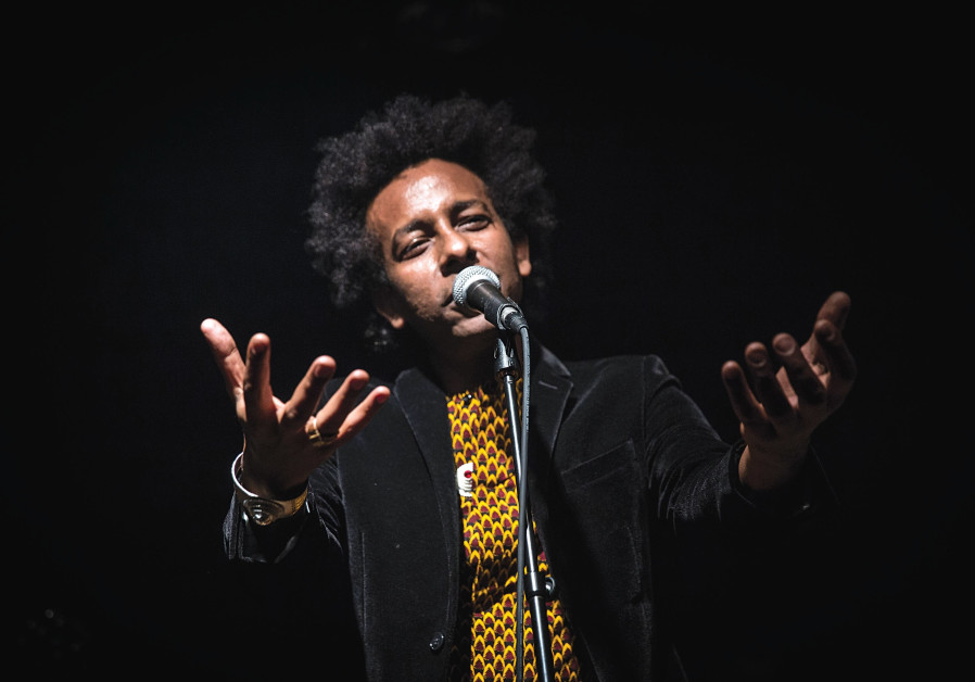 Ethiopian-Israeli singer tells his personal story and that of a