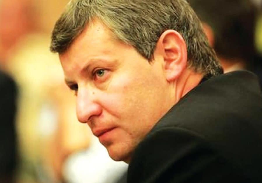 Former tourism minister Stas Misezhnikov
