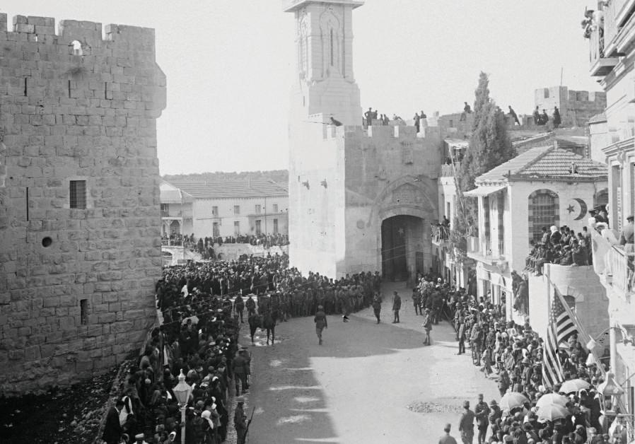 Jérusalem et l'Europe: 100 ans de malentendus