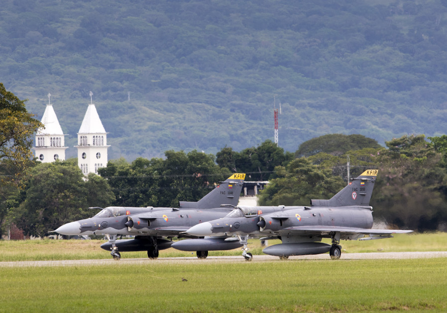 IAI in talks to upgrade Sri Lankan Kfir fighter jets