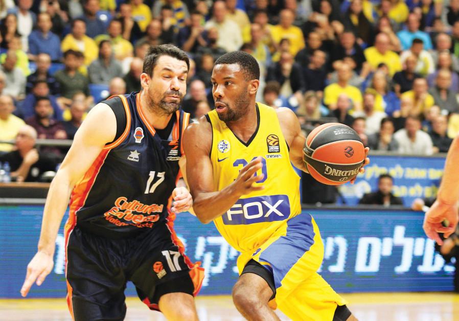Maccabi Rishon Lezion's Jason Siffers