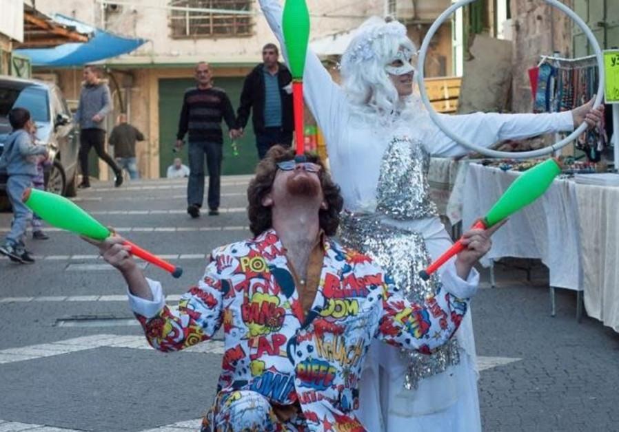 Nazareth Christmas festival under way