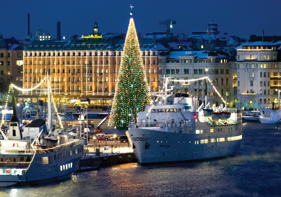 IT IS Christmas season in Stockholm. But all is not well.