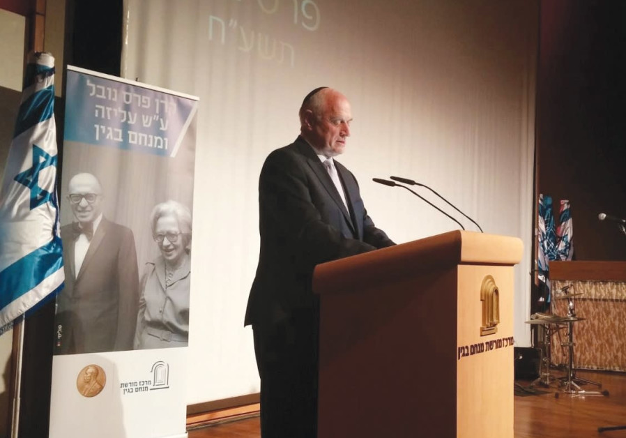 Hoenlein awarded Begin Prize for Israel-Diaspora leadership