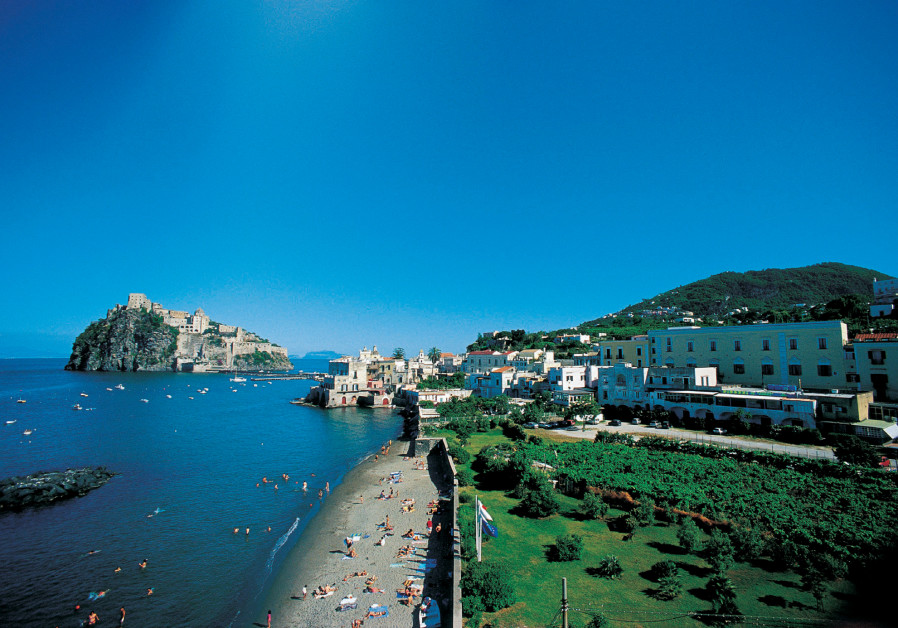 THE CHARMING seaside harbor of Ischia Porto