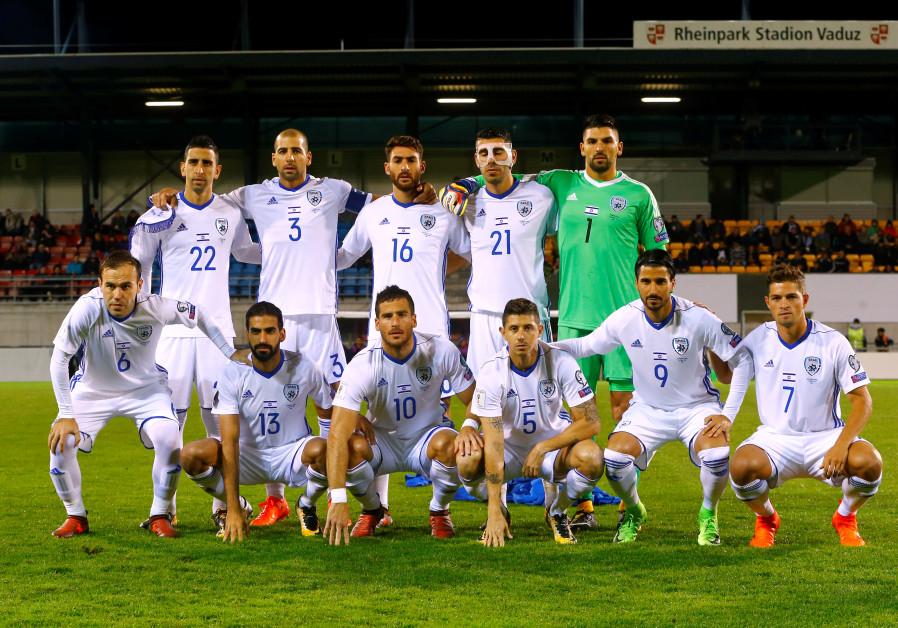Israel's soccer team
