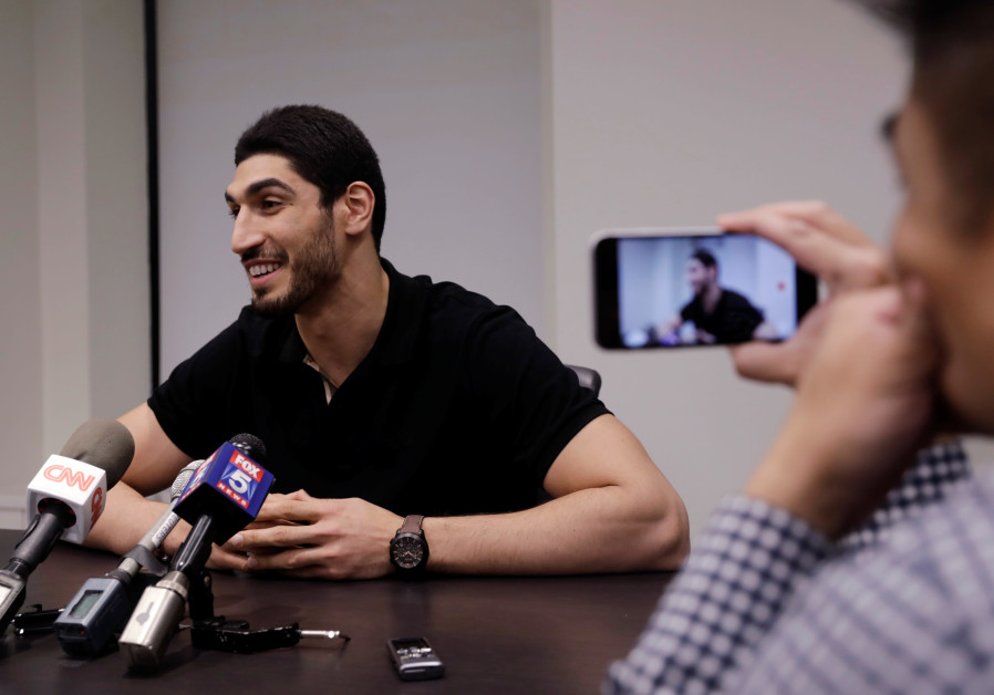 Turkish NBA player Enes Kanter speaks about the revocation of his Turkish passport and return to the