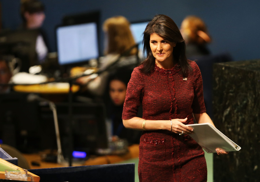 Nikki Haley: Reduction in US funds to UN 'big step in the right direction'