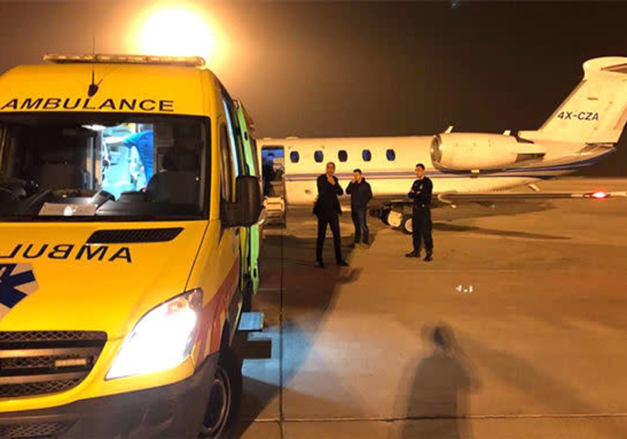 Israel flies in newborn Syrian refugee for life-saving heart operation