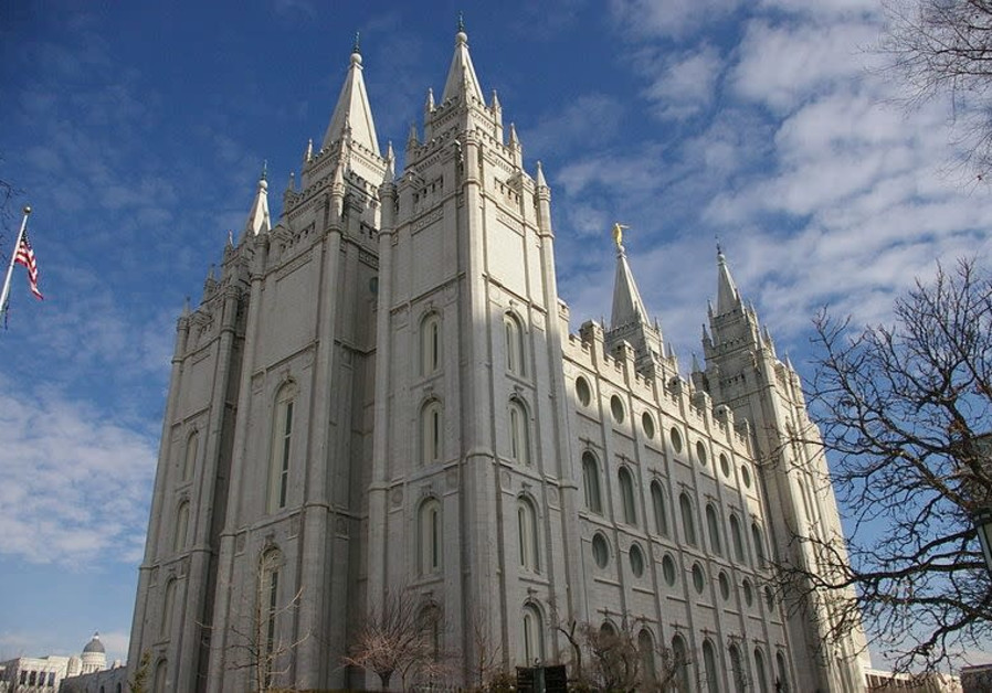 The Salt Lake City Temple of the Church of Latter Day Saints (Mormons)