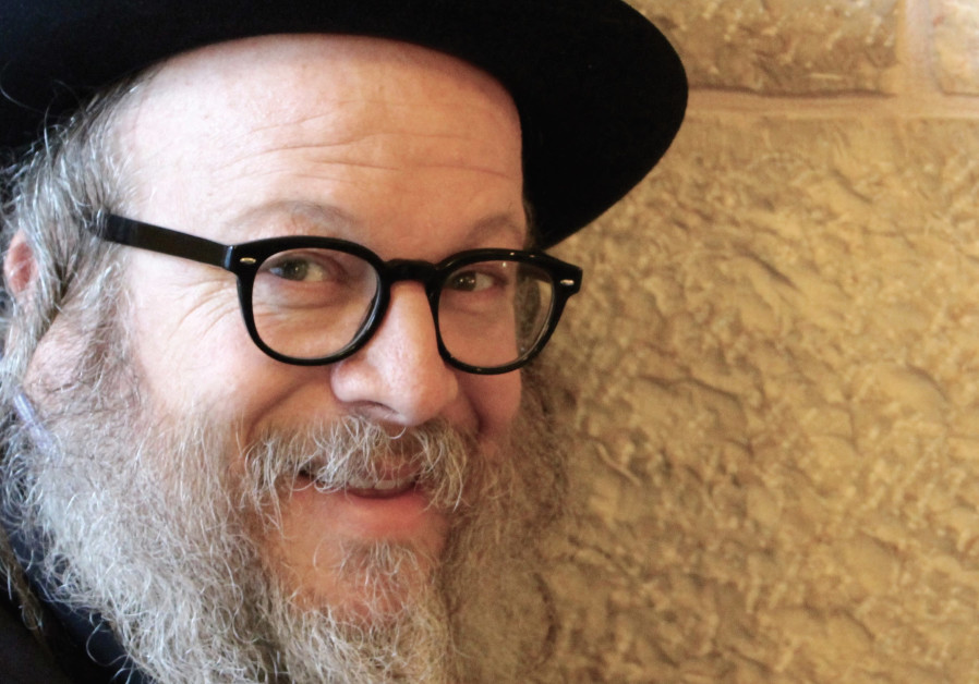 Jerusalem's funniest Hassid Yisrael Campbell.