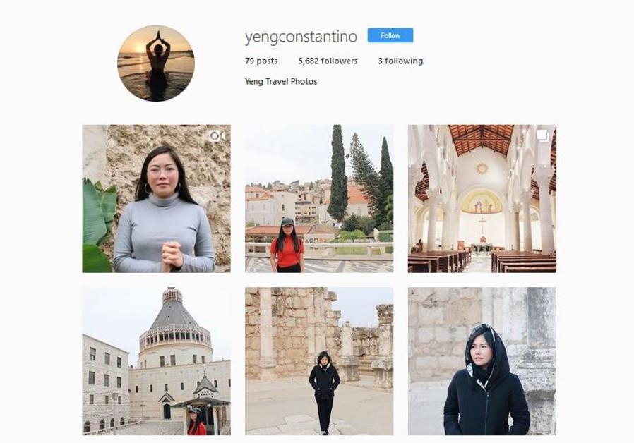 Yeng Constantino's Instagram account