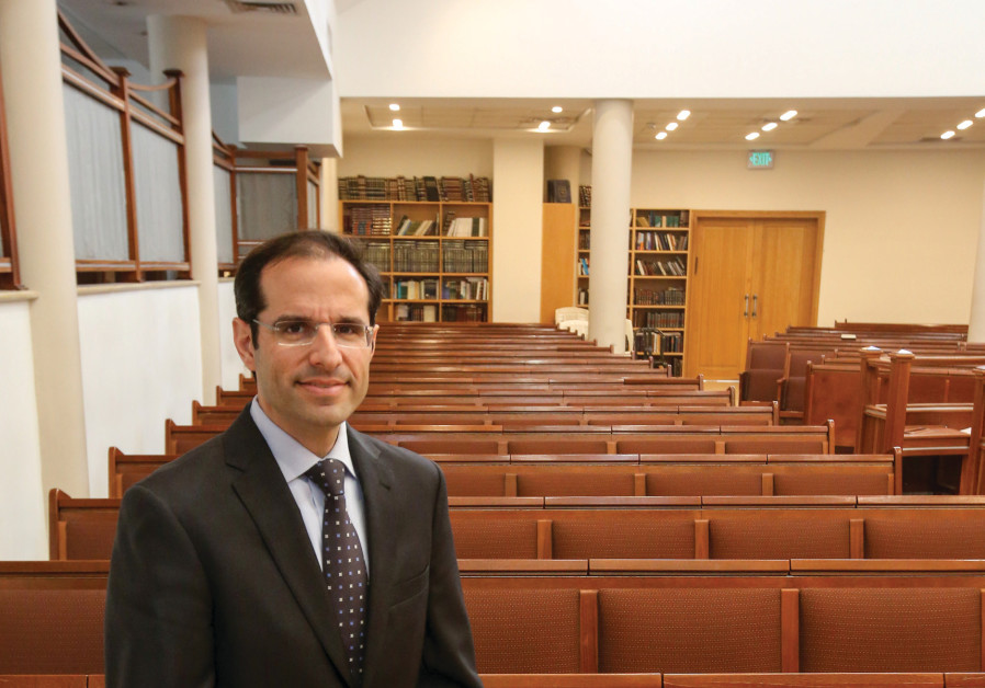Rabbi Shai Finkelstein endeavors to keep Jewish law focused on people and context at the Nitzanim sh