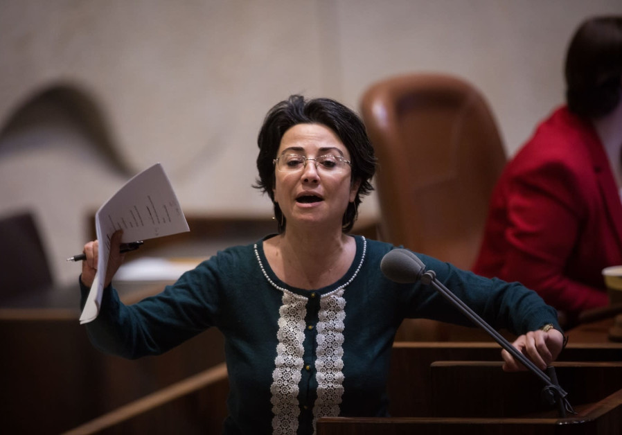 Haneen Zoabi comes to Corbyn's defense over antisemitism charges