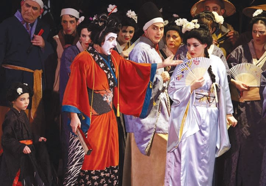 Comedy and kimonos in 'The Mikado'