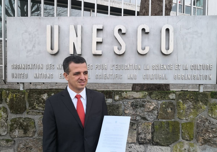Racing against the clock, Israel submits letter quitting UNESCO