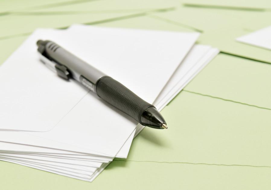 Pen and paper (illustrative).