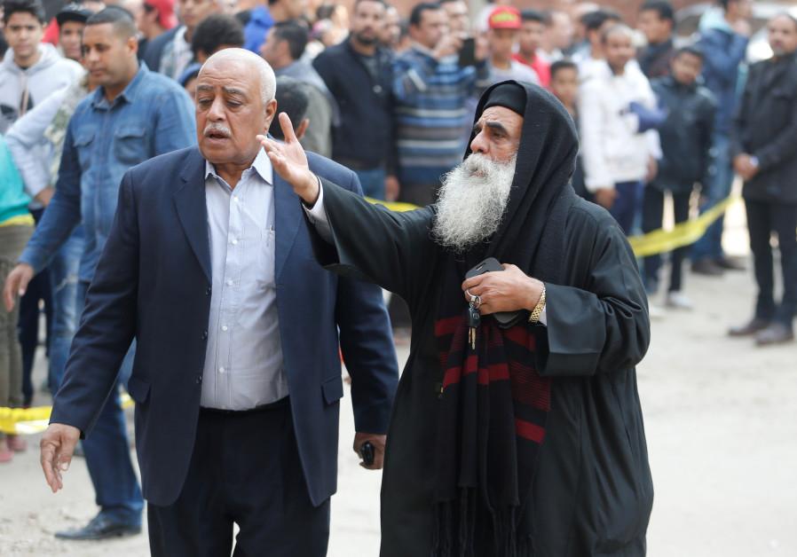 Gunmen attack Coptic Christian church near Cairo, killing at least nine