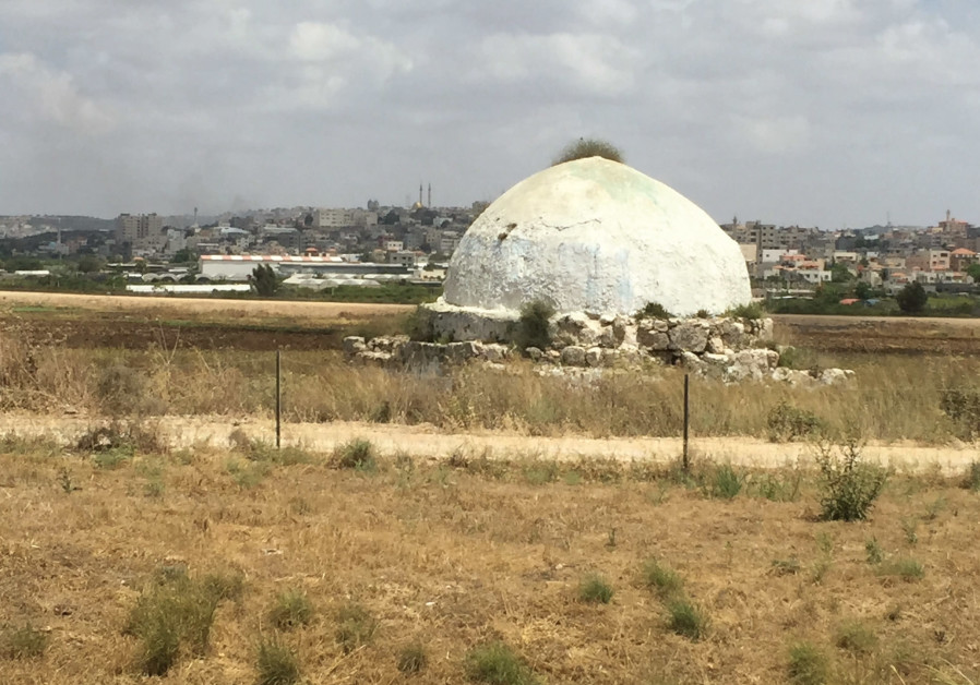 AN ANCIENT sheikh's tomb on the road to Wadi Ara.
