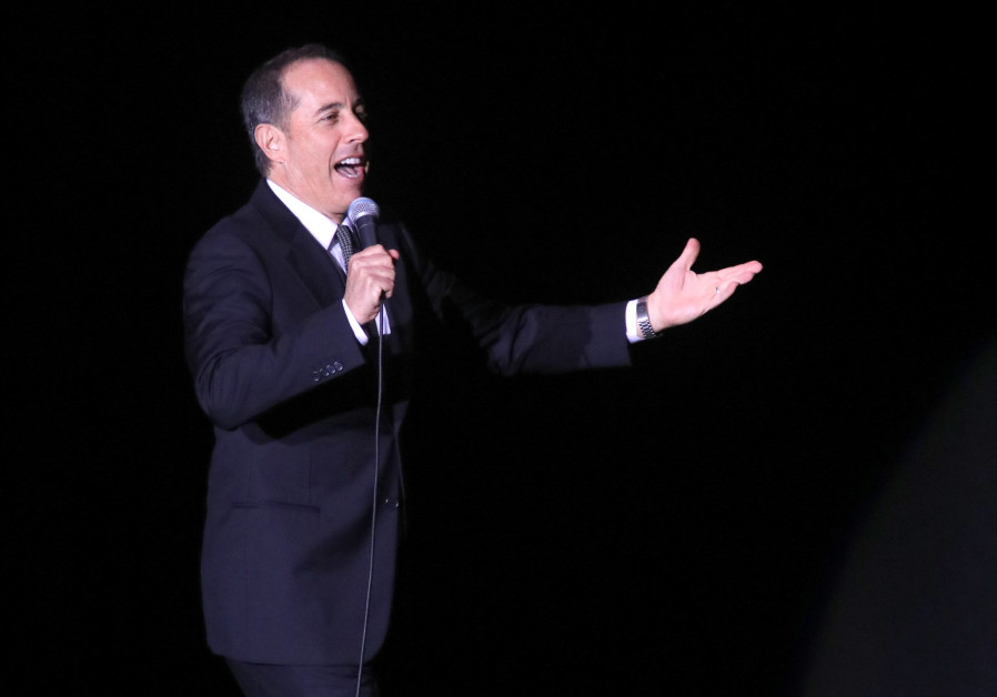 Jerry Seinfeld performs in Tel Aviv