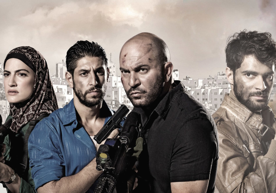 'All thriller, no filler': (left to right) Rona-Lee Shim'on, Idan Amedi, Lior Raz and Firas Nassar.