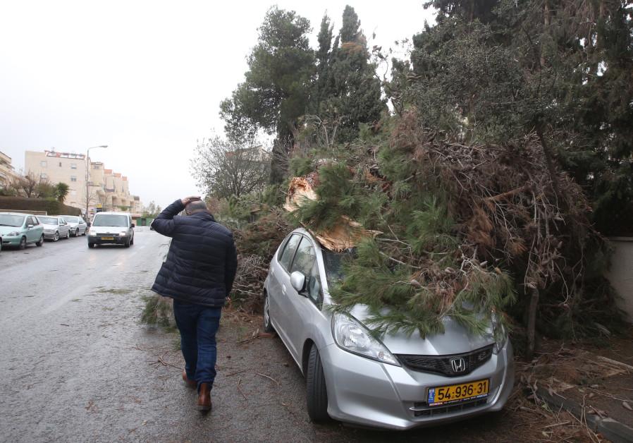 Israel hunkers down for weekend winter storm
