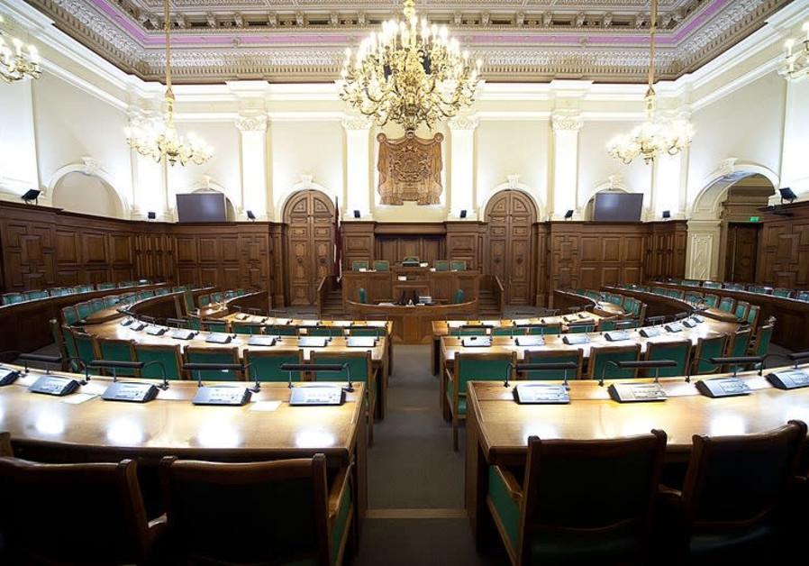 The Saeima, Lativa's Parliament in Riga