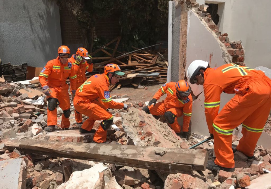 ZAKA helps with disaster relief following severe storms in South Africa