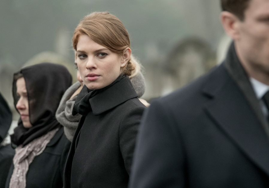 Actress Yuval Scharf in a scene from McMafia (2018)
