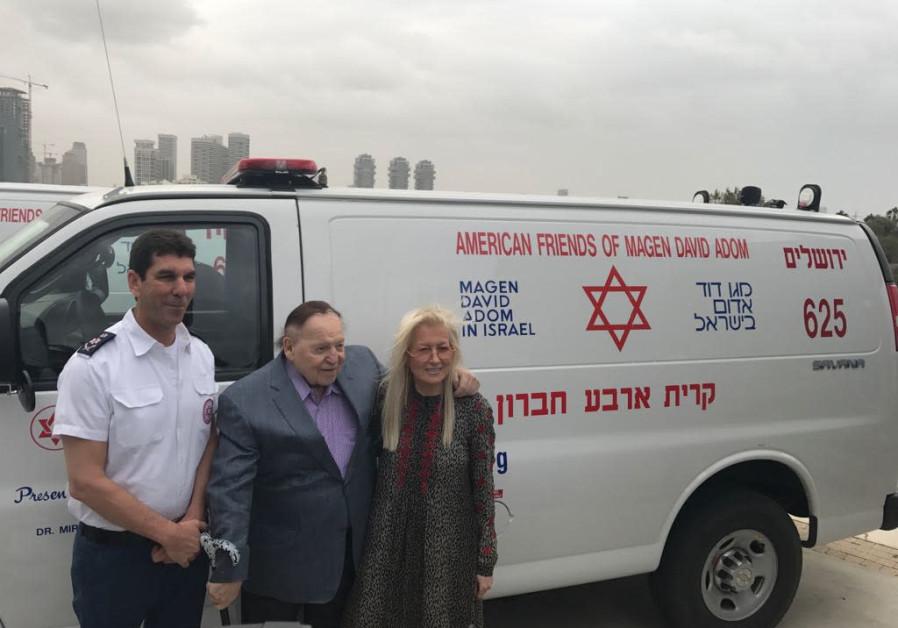 New ambulances for Judea and Samaria