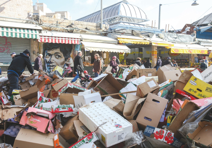 Barkat: throw out your ego along with our trash