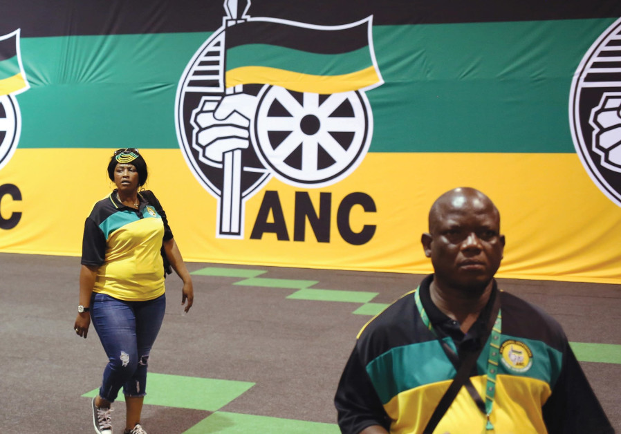AFRICAN NATIONAL Congress members arrive at its 54th National Conference in Johannesburg last month.