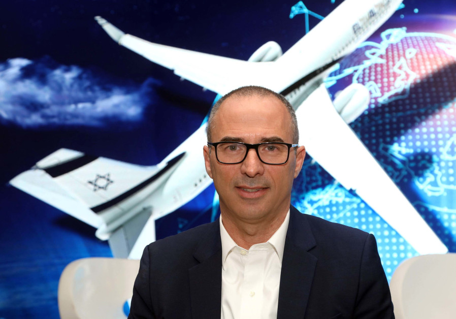 Gonen Usishkin, El Al's new CEO, once flew as a pilot and is now trying to direct the company away f