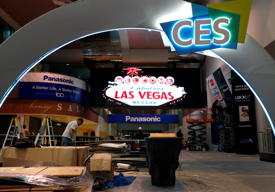 A view of the Las Vegas Convention Center lobby