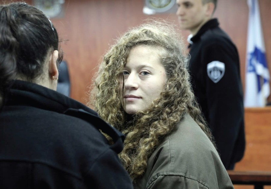 Ahead of trial, Amnesty says Israel must release Ahed Tamimi