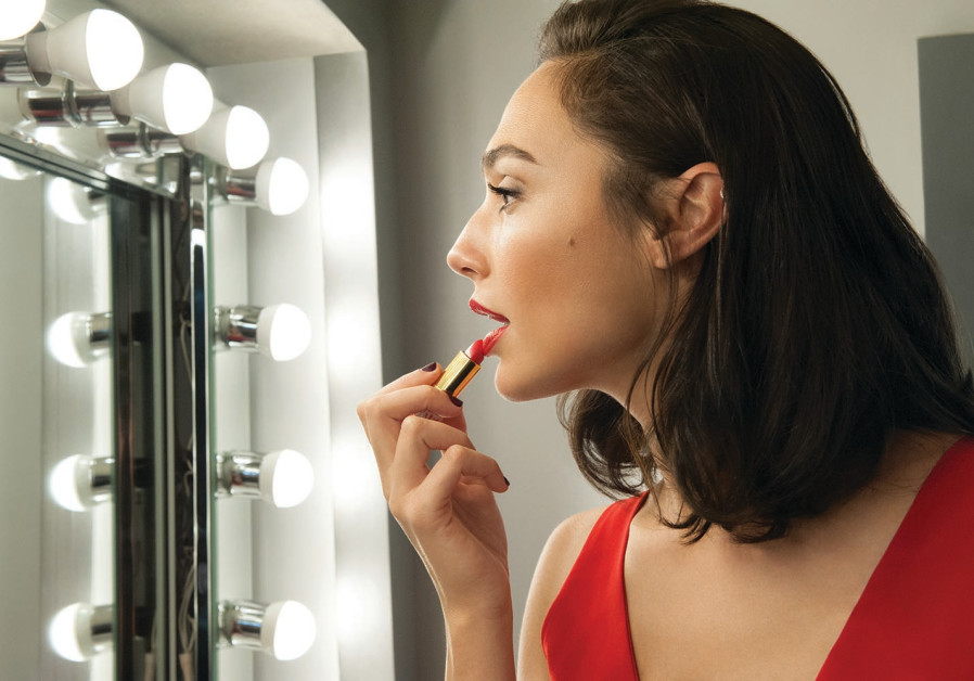 Israeli actress Gal Gadot as Revlon's new Global Brand Ambassador.