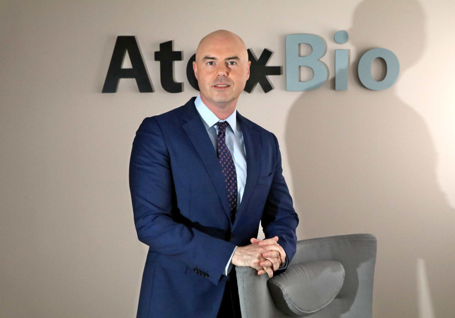 Dan Teleman, the CEO of Israeli pharmaceutical start-up Atox Bio, is helping to prepare one of the f