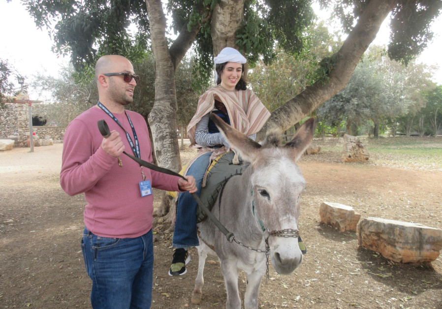 Special-needs young adults on Birthright trip