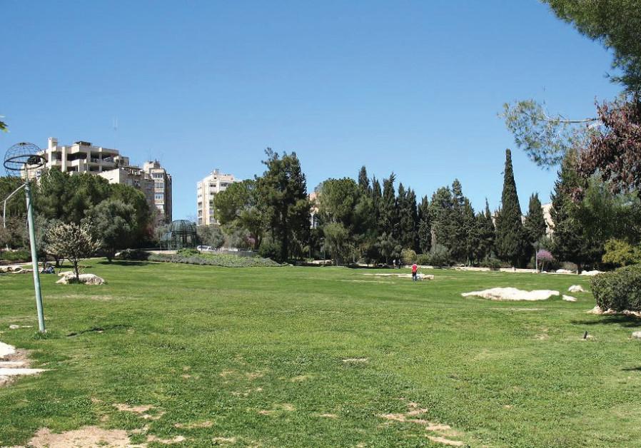 Independence Park in Jerusalem