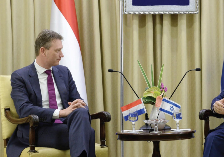 Rivlin, Dutch FM agree on confidence-building measures between Israel and the Palestinians