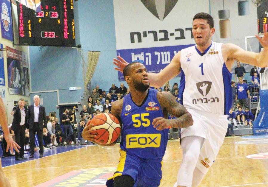Maccabi Tel Aviv's Pierre Jackson
