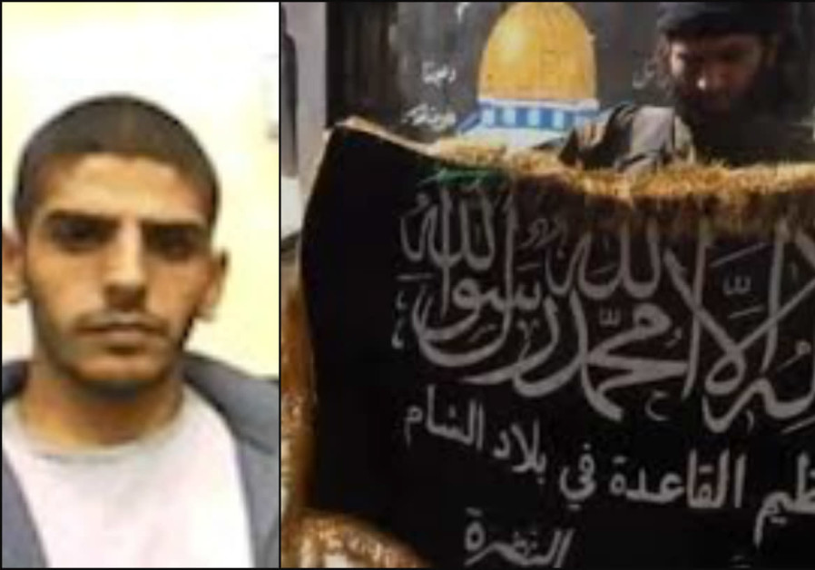 Hassan Taher Shir Yusuf (left) was arrested for carrying out pro-ISIS activities