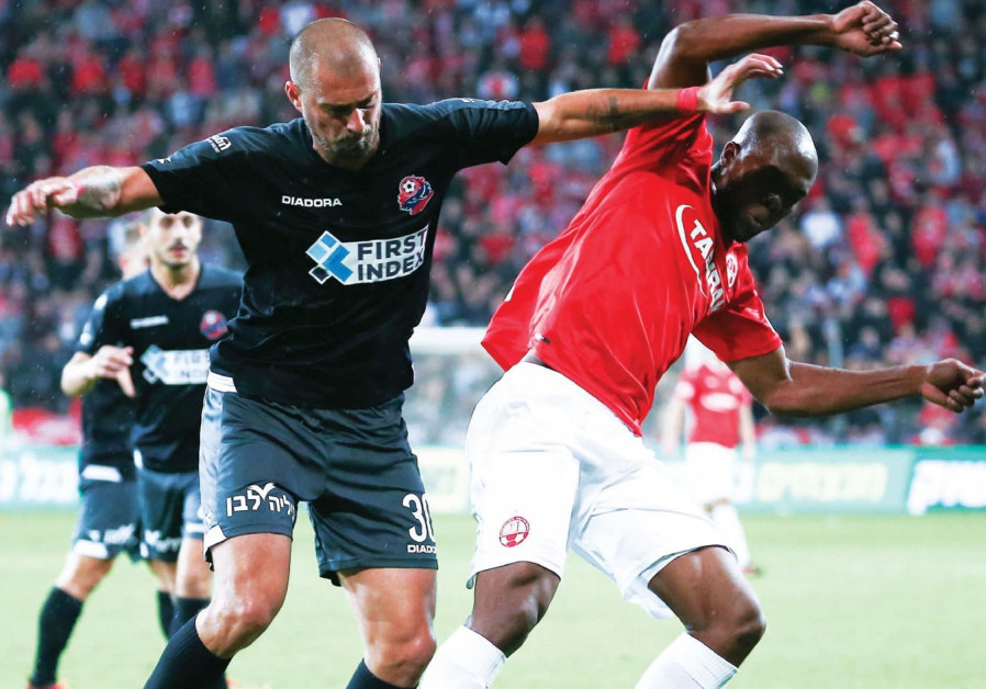 Beersheba ekes into first place with draw