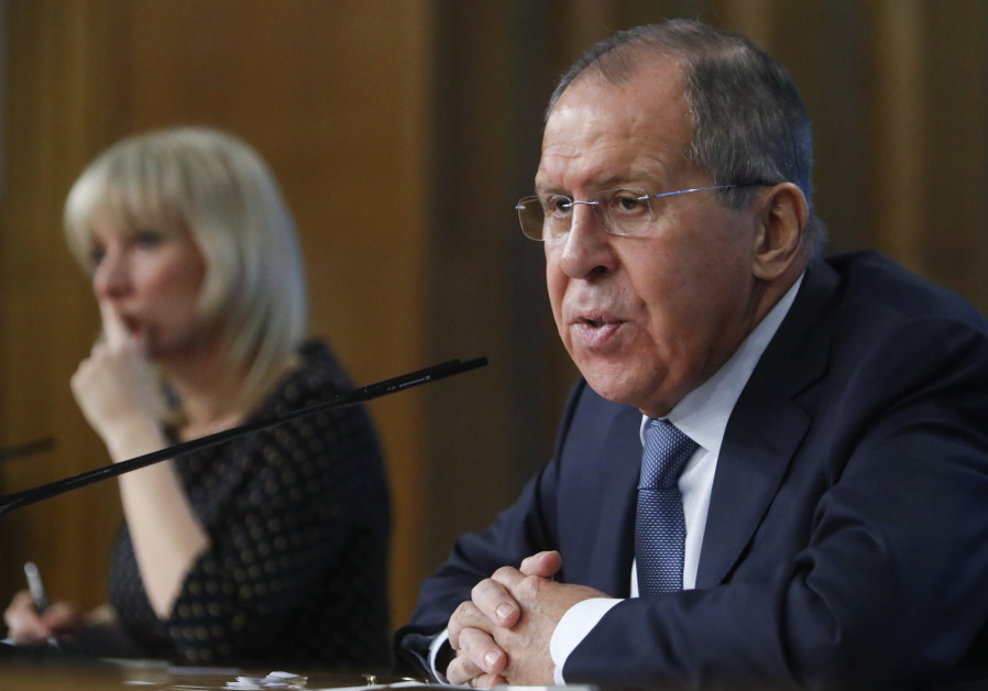 Russian Foreign Minister Lavrov attends his annual news conference in Moscow