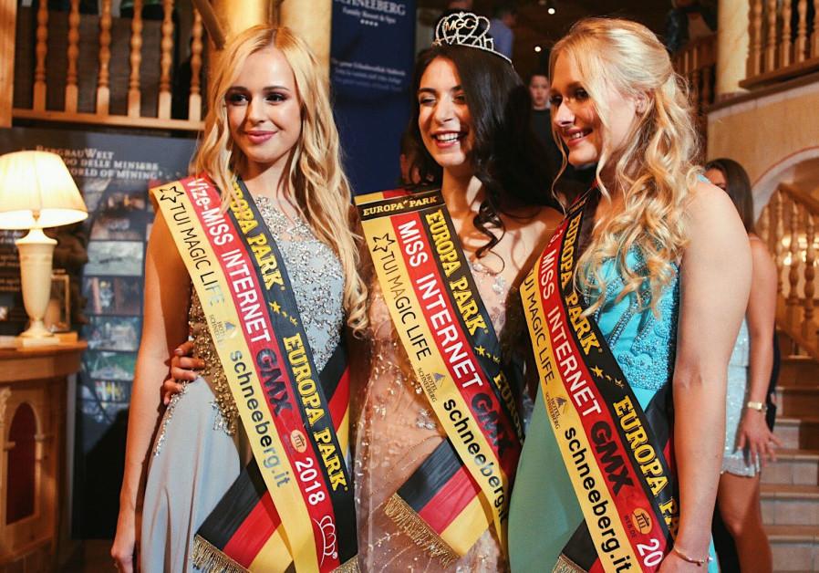 Jewish Miss Germany contestant wins Miss Internet